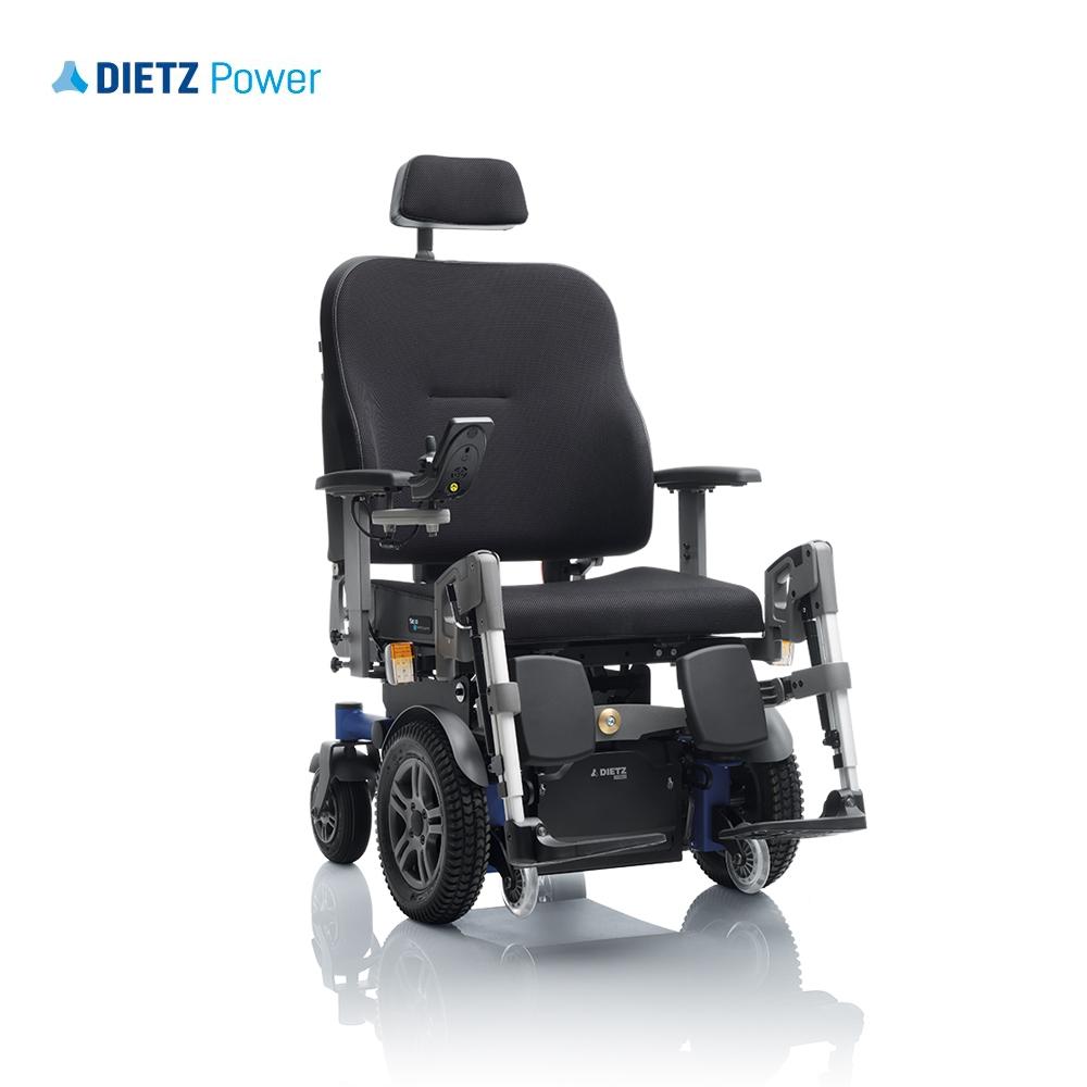 Shows Dietz Sango XXL in front wheel drive option