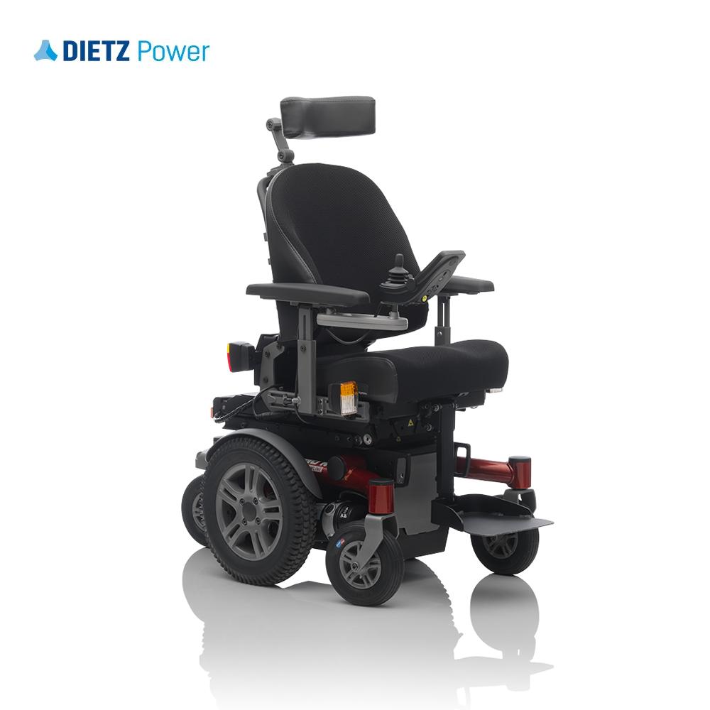 Shows Dietz Sango Advanced Junior with mid wheel drive option