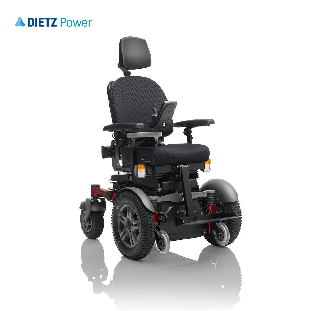 Shows Dietz Sango Advanced front wheel drive option