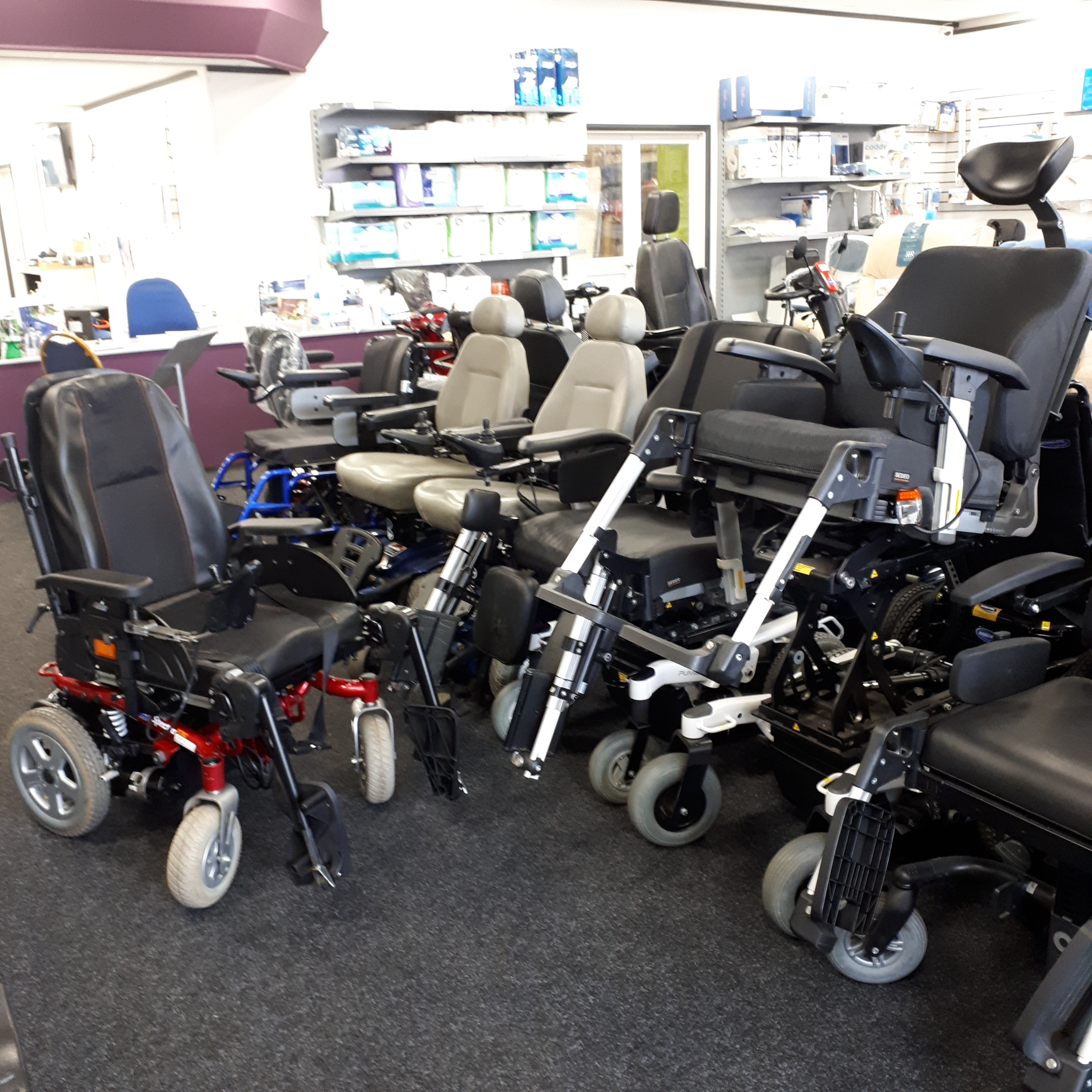 range of powerchairs all for sale